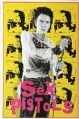 Sex Pistols - 'Johnny Rotten Yellow' Postcard